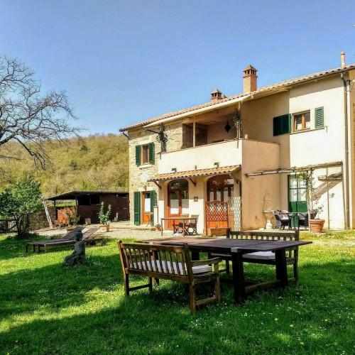 Landhaus/Agriturismo mit Traumblick auf Arezzo Toskana Italien